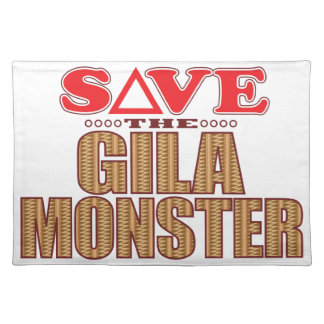 Gila Monster Save Place Mats