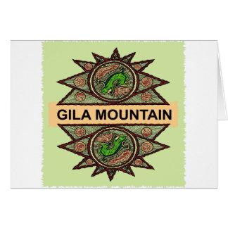 Gila Mountain Native American Indian Greeting Card
