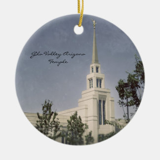 Gila Valley Arizona Temple Christmas Ornament