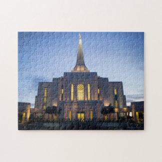 GIlbert Arizona LDS Temple Jigsaw Puzzle