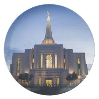 GIlbert Arizona LDS Temple Plate