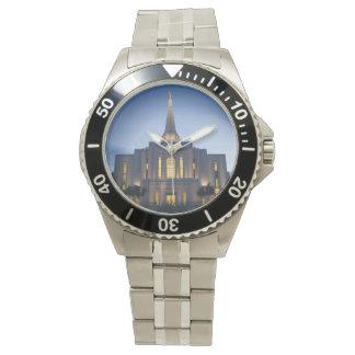 Gilbert Arizona LDS Temple Stainless Steel Watch