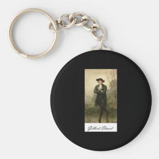 Gilbert Stuart The Skater William Grant Portrait Basic Round Button Key Ring