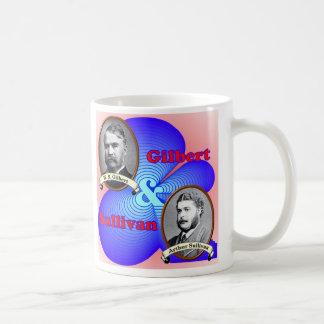 Gilbert & Sullivan Coffee Mug