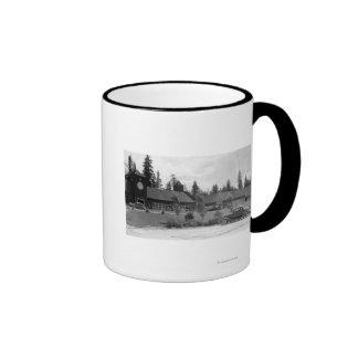 Gilchrist, Oregon Commercial Center View Coffee Mug
