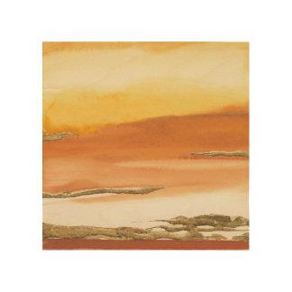 Gilded Amber I v2 Abstract Print