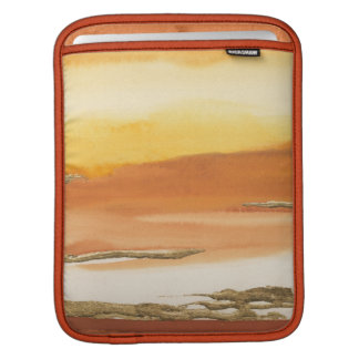 Gilded Amber I v2 Abstract Print iPad Sleeves