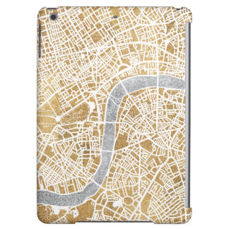 Gilded City Map Of London