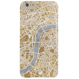 Gilded City Map Of London Barely There iPhone 6 Plus Case
