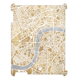 Gilded City Map Of London Case For The iPad 2 3 4