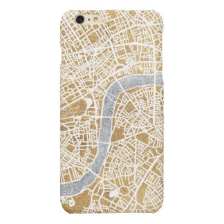 Gilded City Map Of London iPhone 6 Plus Case