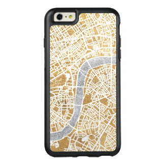 Gilded City Map Of London OtterBox iPhone 6/6s Plus Case