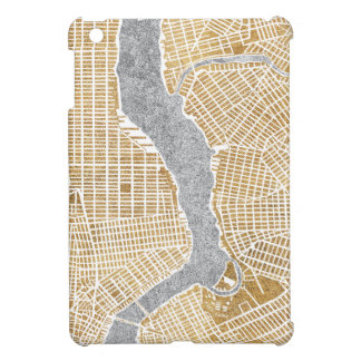 Gilded City Map Of New York Case For The iPad Mini