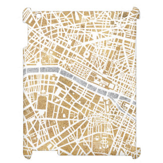 Gilded City Map Of Paris Case For The iPad