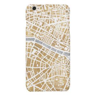 Gilded City Map Of Paris iPhone 6 Plus Case