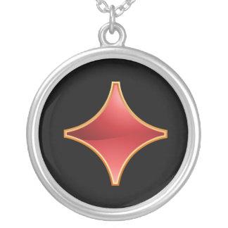 Gilded Diamond Necklace
