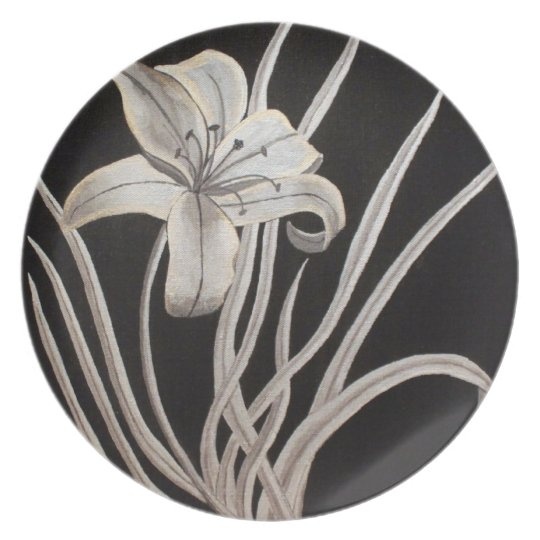 Gilding the Lily Plate