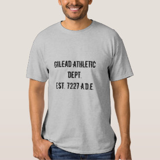 Gilead Athletic Dept. Tee Shirt