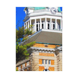 Giles County, TN - Courthouse canvas Canvas Prints
