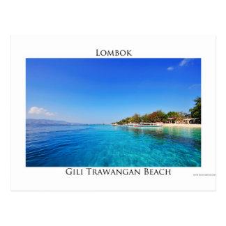 Gili Trawangan, Lombok Postcard
