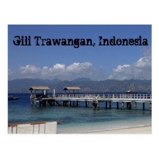 Gili Trawangan Postcard