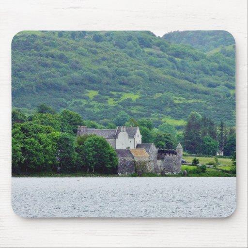 Gill Lough Lakes Ireland Parkes Castle Mouse Pad