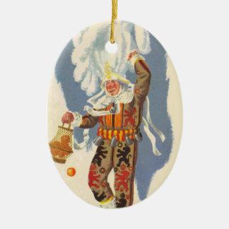 Gilles de Binche Ceramic Oval Decoration