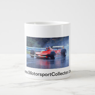 Gilles Villeneuve in the Rain Extra Large Mug