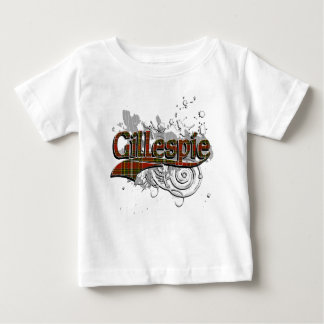 Gillespie Tartan Grunge Baby T-Shirt