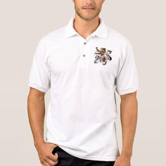 Gillespie Tartan Lion Polo Shirt