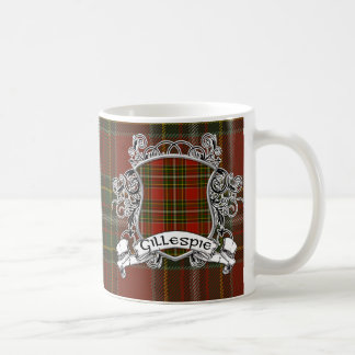 Gillespie Tartan Shield Coffee Mug