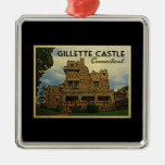 Gillette Castle Connecticut Christmas Ornament