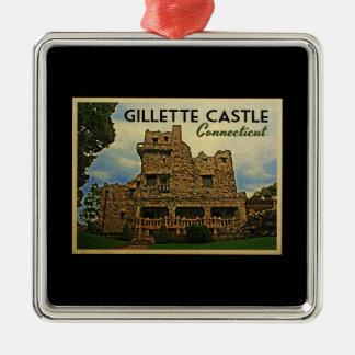 Gillette Castle Connecticut Christmas Ornament