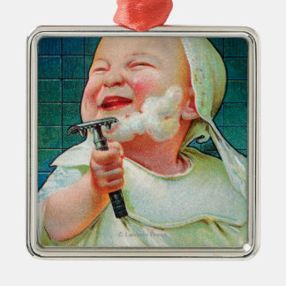 Gillette Safety Razor - Begin Early Shave Christmas Ornament