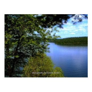 Gillham Dam Arkansas Post Card