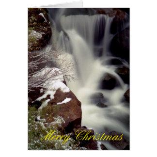 Gillman Falls in Winter Card