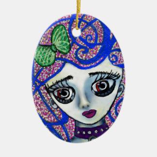 Gilly the Sad Emo Christmas Ornament