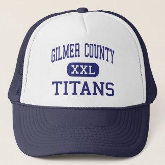 Gilmer County - Titans - High - Glenville Trucker Hat