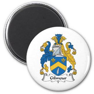 Gilmour Family Crest 6 Cm Round Magnet