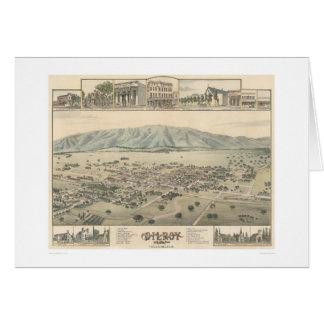 Gilroy : Santa Clara County California (1299) Card