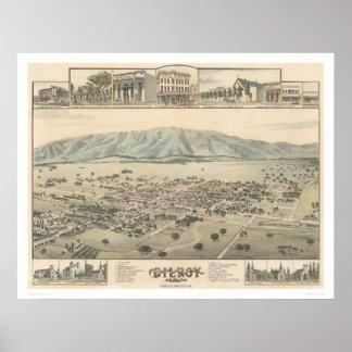 Gilroy : Santa Clara County California (1299) Poster