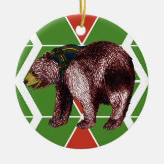Gilwell Bear Chevron Ornament