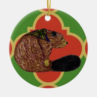 Gilwell Beaver Quatrefoil Ornament