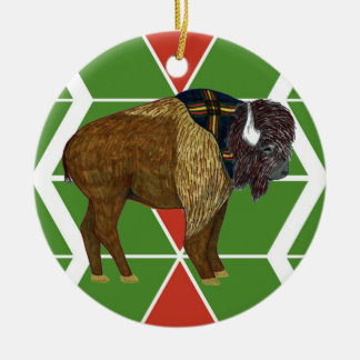 Gilwell Buffalo Chevron Ornament