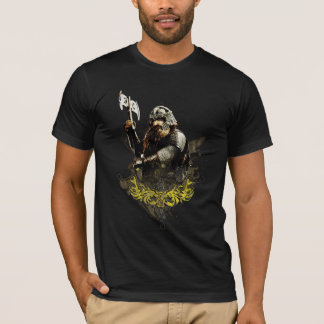 Gimli With Ax Vector Collage T-Shirt