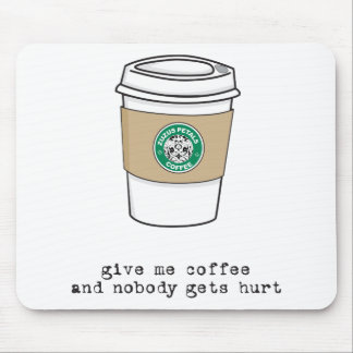 gimme coffee mouse mats