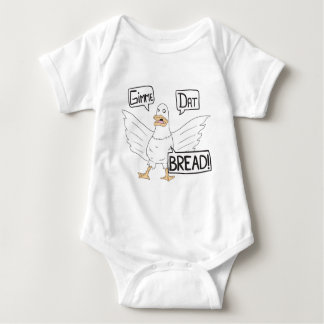 Gimme Dat Bread - Duck or Goose Cartoon Baby Bodysuit