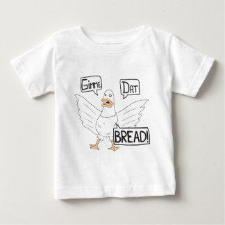 Gimme Dat Bread - Duck or Goose Cartoon Baby T-Shirt