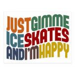 Gimme Ice Skates Postcards