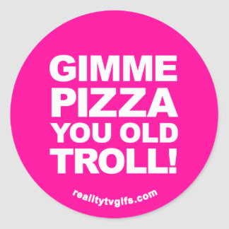 Gimme Pizza - Stickers